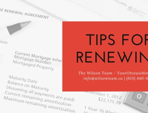 Tips for Renewing Your Mortgage