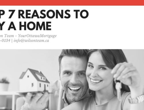 Top 7 Reasons to Buy a Home