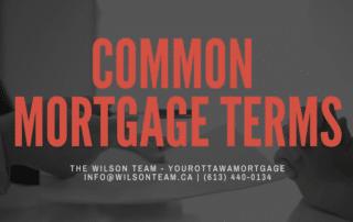 Ottawa Mortgage Broker | Common Mortgage Terms